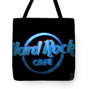 Hard Rock Neon In Space Tote Bag