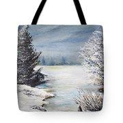 Hard Winter Tote Bag