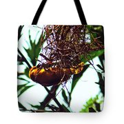 Hard Working Bird Tote Bag