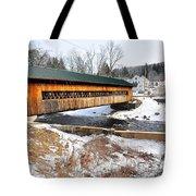 Hardwick Covered Bridge  Tote Bag