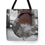 Hardworking Santa Tote Bag