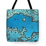 Hardy Reef On Great Barrier Reef Tote Bag