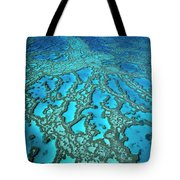 Hardy Reef On The Great Barrier Reef Marine Tote Bag
