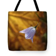Hare Bell And Gold Leaf Tote Bag