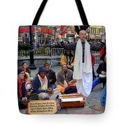 Hare Krishnas Nyc Tote Bag