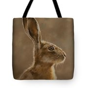 Hare Portrait I Tote Bag