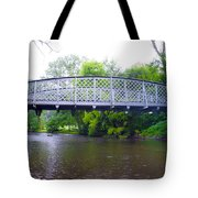 Hares Hill Road Bridge Tote Bag