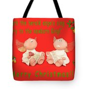 Hark The Herald Angles Sing Tote Bag