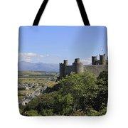 Harlech Castle Snowdonia Tote Bag