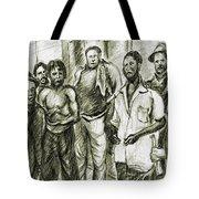 Harlem Guys - New York Art Tote Bag