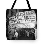 Harlem's Apollo Theater Tote Bag