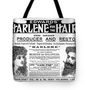 Harlene For The Hair, 1897 Tote Bag