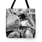 Harley Abstract Tote Bag