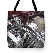 Harley Close-up Possessed Tote Bag