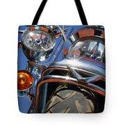 Harley Close Up Tote Bag