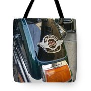 Harley Close-up Tail Light Tote Bag