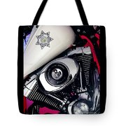 Harley Cop 2 Tote Bag
