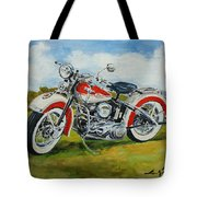 Harley Davidson 1943 Tote Bag