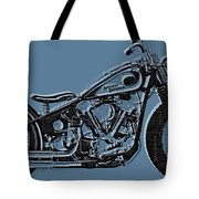 Harley-davidson And Words Tote Bag