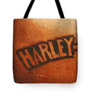 Harley Davidson Leather Tool Bag  Tote Bag