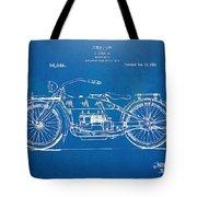 Harley-davidson Motorcycle 1919 Patent Artwork Tote Bag by Nikki Marie Smith