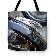 Harley Davidson Motorcycle American Eagle Fender Ornament Usa Tote Bag