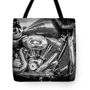 Harley Davidson Motorcycle Harley Bike Bw  Tote Bag
