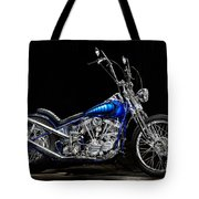 Harley-davidson Panhead Chopper From The Wild Angels Tote Bag