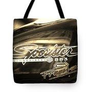 Harley Davidson Sportster 883 Tote Bag