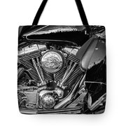 Harley Davidson Ultra Classic Monochrome Tote Bag