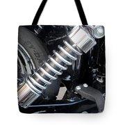 Harley Engine Close-up 2 Tote Bag
