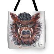 Harley Hog Tote Bag by Nadine Rippelmeyer