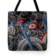 Harley Pair Tote Bag