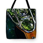 Harley Tank In Oils Tote Bag