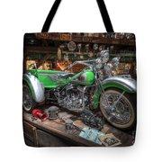 Harley Trike Tote Bag
