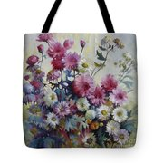 Harmonies Of Autumn Tote Bag