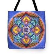 Harmony Mandala Tote Bag