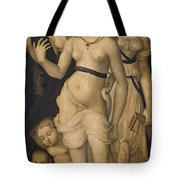 Harmony Or The Three Graces Tote Bag