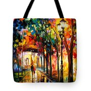 Harmony - Palette Knife Oil Painting On Canvas By Leonid Afremov Tote Bag
