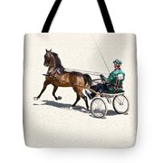 Harness Green Tote Bag