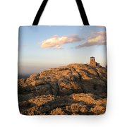 Harney Peak At Dusk Tote Bag