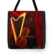 Harp And Cello Tote Bag