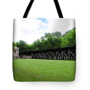 Harpers Ferry Hardware And Railroad Tote Bag