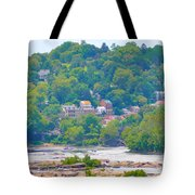 Harpers Ferry View Tote Bag