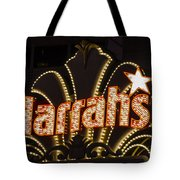 Harrahs - Las Vegas Tote Bag