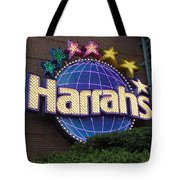 Harrahs Of New Orleans Tote Bag
