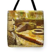 Harrappa Unesco World Heritage Site Tote Bag by Catf