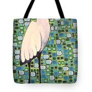Harried Heron Tote Bag