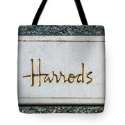 Harrods Tote Bag