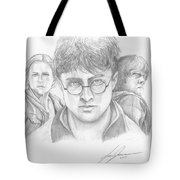 Harry And Friends Tote Bag